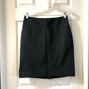 Merona Black Stretch Pencil Skirt size 2